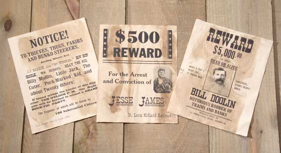 billy the kid wanted poster. free printable western wanted