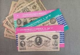 Civil War Currency Set