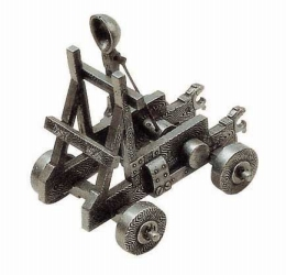 Miniature Medieval Catapult.