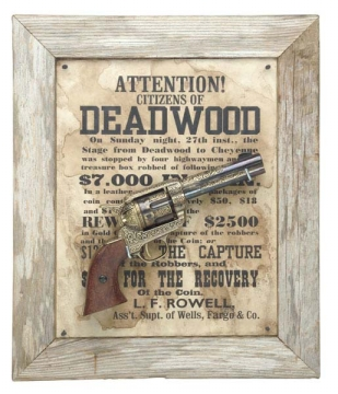 Deadwood Barn wood Frame Set.