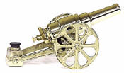 Small Yellow Brass Cannons