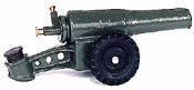 60MM Green Military Cannon