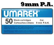 9MMPA/9MMPAK Blanks, 50 Pack