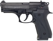 Beretta V92F Compact 9MM PA Blank Firing Guns - Black