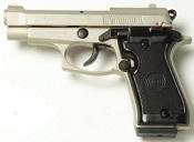 Beretta V85 9MM PA Blank Firing Gun - Satin