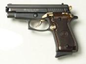 P229 9MMPA Blank firing gun Black Gold