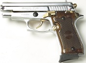 P229 9MMPA Blank firing gun- Nickel-Gold
