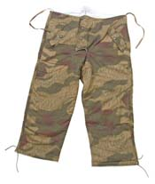 WWII WAFFEN SS PADDED WINTER PANTS REVERSIBLE