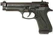 Fully Automatic Blank Gun Beretta V92F Jackal 9MMPA Black