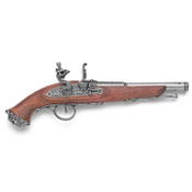 18th Century Pirate Non Firing Flintlock Pistol G