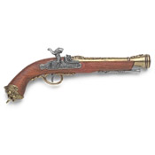 19th Century Itallian Blunderbuss Percussion Pistol L