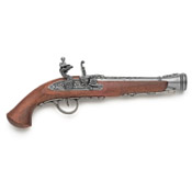 18th Century Europeon Non Firing Flintlock Pistol G