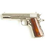 1911 .45 Government Automatic Nickel