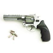 """Viper 4.5"""" Barrel 390/9mm Blank Firing Gun-Nickel"""