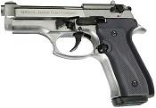Fully Automatic Blank Gun Beretta V92F Jackal Compact 9MM PA Chrome