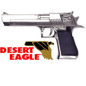 Desert Eagle® Combat .50 Non Firing Replica Gun Chrome