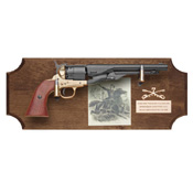General George A. Custer Deluxe Framed Set Dark Wood