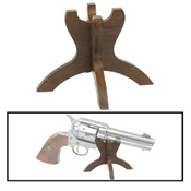 Wooden Pistol Stand