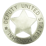 Deputy United States Marshal Badge