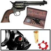 Western Cap Gun 1873 Army Fast Draw Blued Finish
