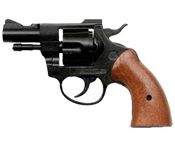 Olympic 6MM 8 shot Blank Firing Gun-Black-Wood