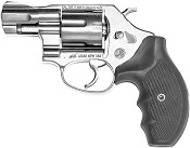 38 Snub Nose 2 Inch Revolver 9mm/380 Blank Firing Gun-Nickel