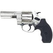 38 Detective 3 Inch Revolver 380/9MM Blank Gun-Nickel