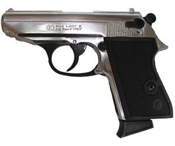 PPK Blank Firing Gun 8MM – Nickel