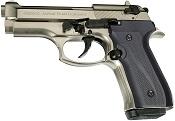 Fully Automatic Blank Gun Beretta V92F Jackal Compact 9MM PA Satin