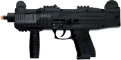Front Firing 9MMPA UZI Full Auto Blank Guns Black