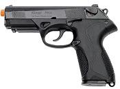 Front Firing Beretta PX4 9MMPA Blank Gun Black.