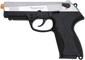 Front Firing Beretta PX4 9MMPA Blank Gun Nickel
