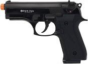 Front Firing Beretta Cougar 9MMPA Blank Gun- Black