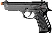 Front Firing M92 Beretta 9MMPA blank firing Gun Black