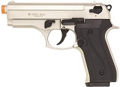 Front Firing Beretta Cougar 9MMPA Blank Gun-Satin