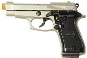 Front Firing Beretta V85 9MMPA Blank Firing Gun Satin