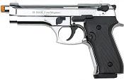 Front Firing V92F 9MMPA Blank Firing Gun Chrome