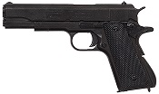 Replica M1911A1 Government Automatic Pistol Non-Firing Gun Black with Black Composite Grips