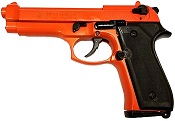 Beretta M92 8MM Blank Firing Gun- Orange