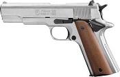 Kimar 1911 Blank Firing Gun 8mm Nickel