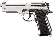 Kimar M92 8MM Semi-Auto Blank Firing Pistol - Nickel Finish