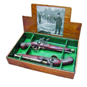 British Dueling Flintlock Dueling Listol Boxed Set