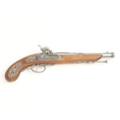 1873 French Percussion Pistol Non firing Replica Gun-Gray