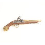 18th Century Replica Flintlock Pistol L