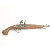 18th Century Engraved Non Firing Flintlock Pistol G
