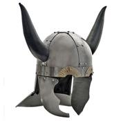 Medieval Viking Horned Helmet