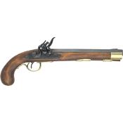 Deluxe Kentucky Flintlock Pistol Brass