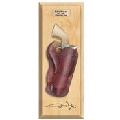 Replica John Wayne Pistol and Holster Frame Set LIGHT WOOD