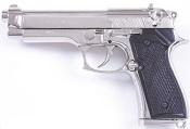 M92 Automatic Pistol Non Firing Nickel