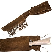 Suede Rifle Scabbard